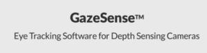 GazeSense - Eye tracking software for depth sensing cameras