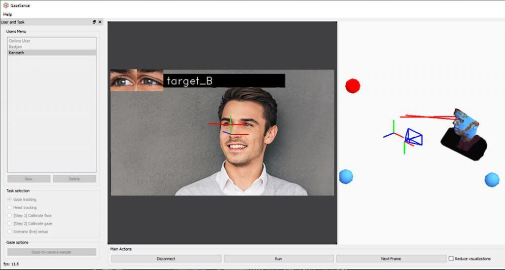 predictive analytics for retail 3d eye tracking simulation