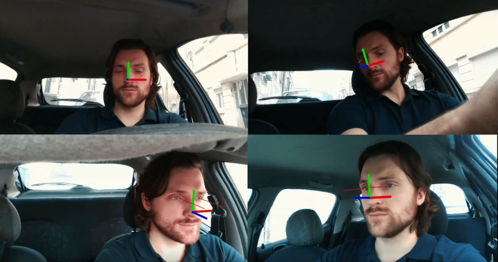 automotive eye tracking