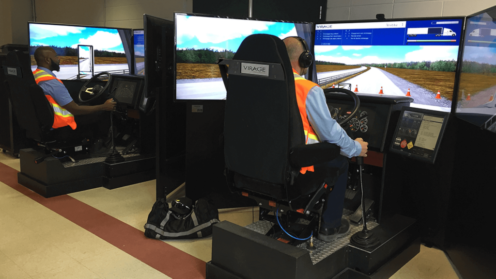 driver training simulator